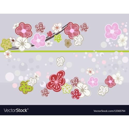 Medium Crop Of Cherry Blossom Art