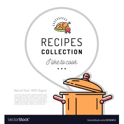 Small Crop Of Recipe Book Template