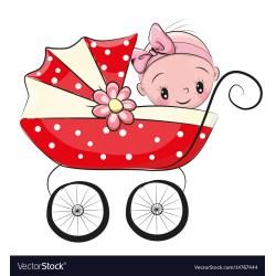 Smothery Cartoon Baby Girl Vector Image Cartoon Baby Girl Royalty Free Vector Image Baby Girl Cartoon Baby Girl Cartoon Clipart