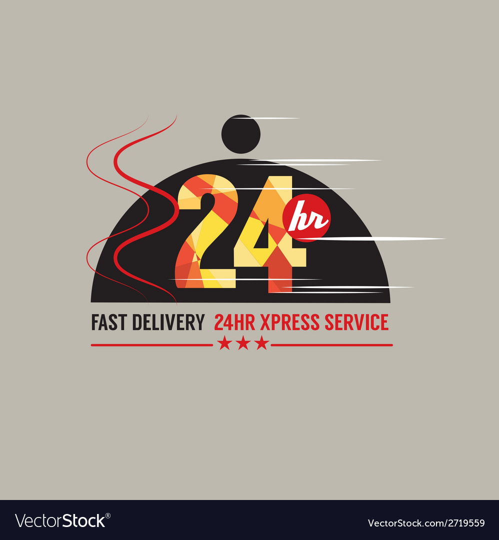 Eye Hours Food Delivery Service Vector Image Hours Food Delivery Service Royalty Free Vector Image 24 Hour Food 24 Hour Food Portland nice food 24 Hr Food