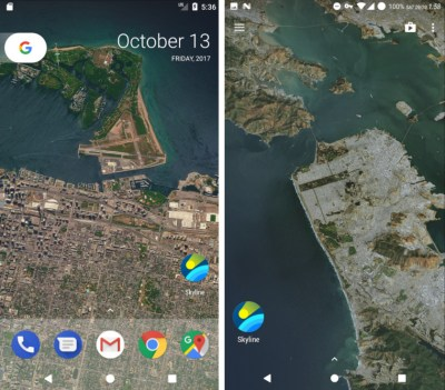 Here's how to set any location as a Pixel 2-style live wallpaper