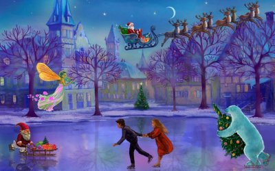 Christmas Rink Live Wallpaper | Download APK for Android - Aptoide