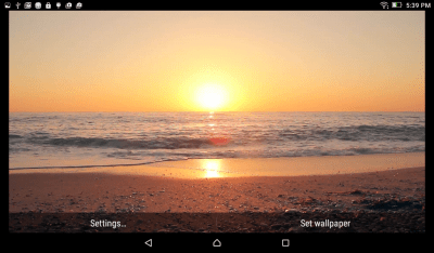 Sunset Beach Live Wallpaper | Download APK for Android - Aptoide