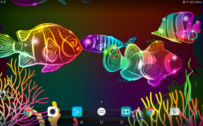 Neon Fish Live Wallpaper | Download APK for Android - Aptoide