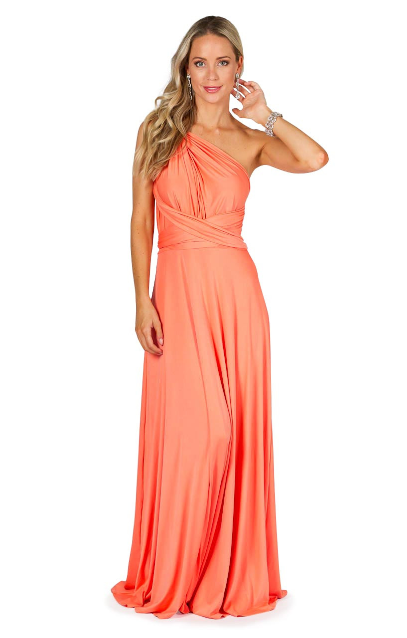 Unique Peach Bridesmaid Maxi Dress Img 0448 09976 Peach Bridesmaid Dresses Pinterest Peach Bridesmaid Dresses 80s wedding dress Peach Bridesmaid Dresses