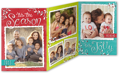 Season's Blessings Christmas Card from Shutterfly