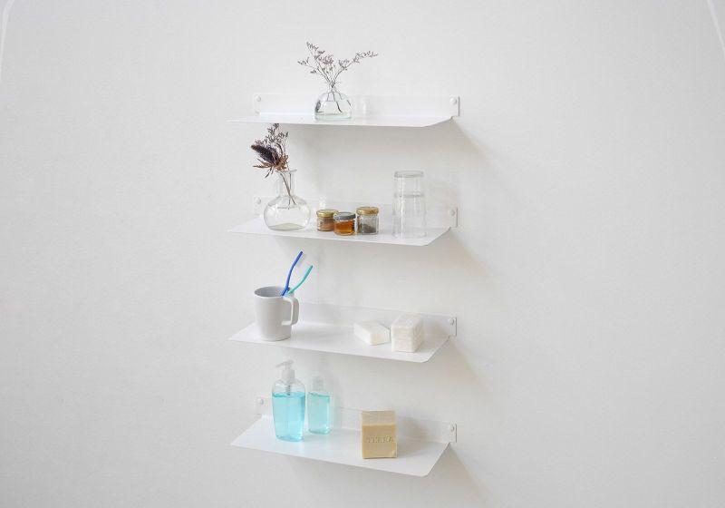 Large Of Wall Bathroom Shelves