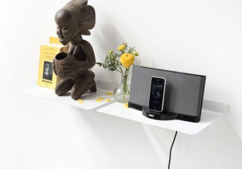 Medium Of Electronic Wall Shelf