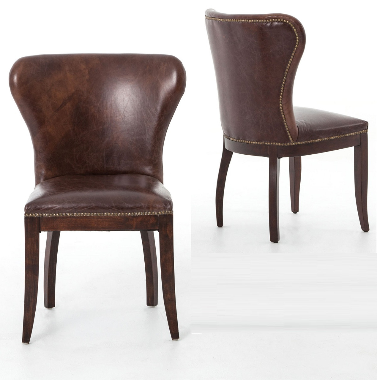 Fullsize Of Leather Dining Chairs