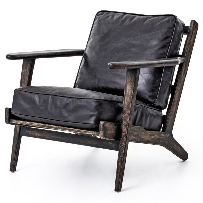 Large Of Leather Lounge Chair