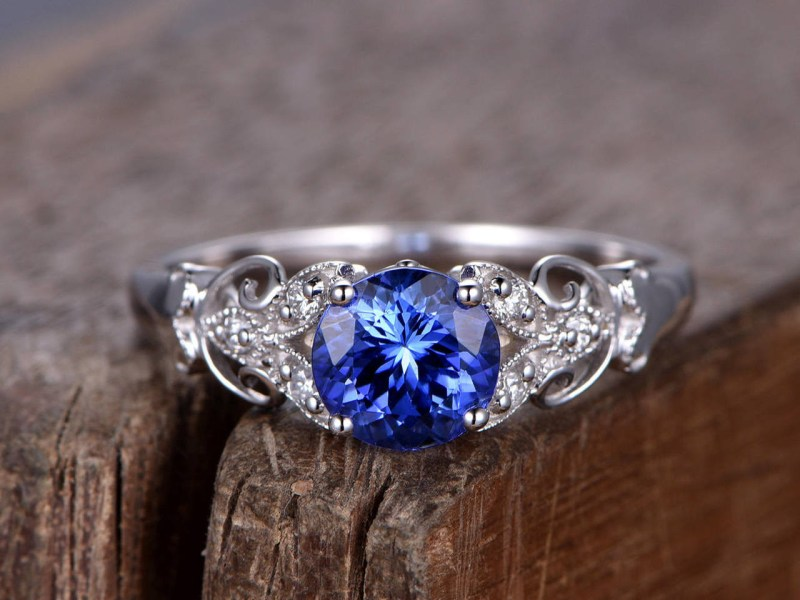 Large Of Blue Sapphire Ring