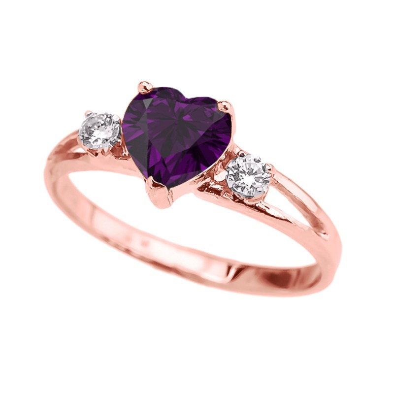 Large Of Rose Gold Promise Ring
