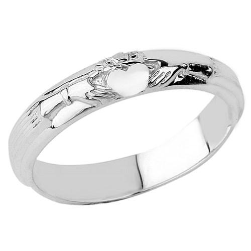 Medium Crop Of White Gold Wedding Rings