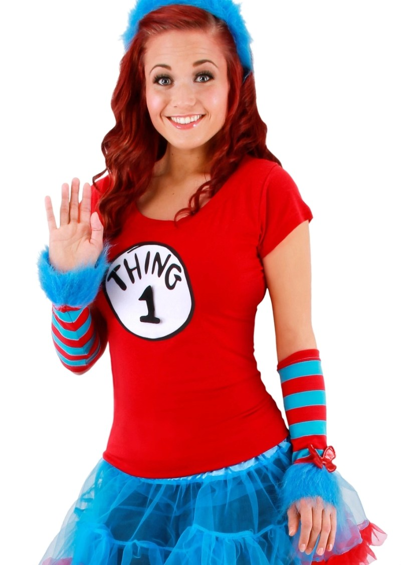 Large Of Thing 1 Costume