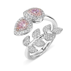 Small Of Pink Engagement Rings