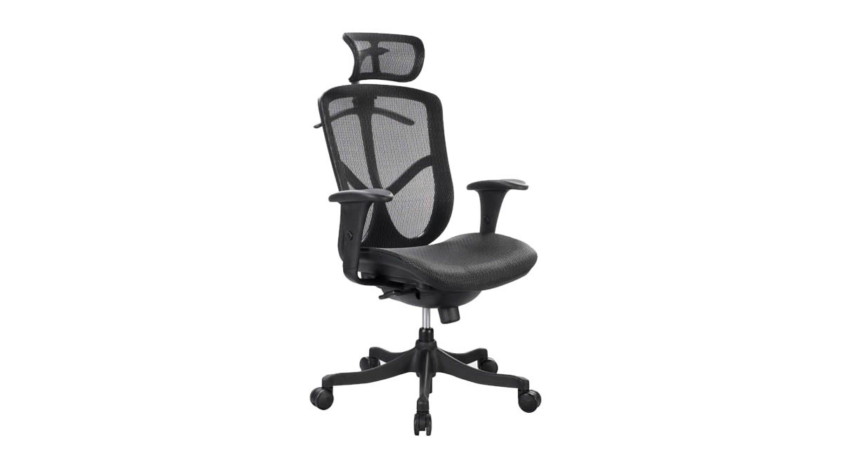 Flagrant With Tilt Lock So You Can Lock Your Seat A Position That Eurotech Fuzion Back Mesh Ergonomic Chair Back Chair furniture Comfortable High Back Chair