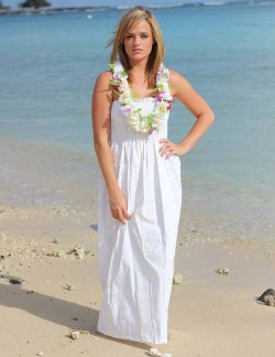 Formidable Size Hawaiian Holoku Wedding Dresses A Beach Party Orany Casual Occasion Smocked Maxi Hawaiian Wedding Dress Hawaiian Wedding Dresses Maxi Smocked Long Hawaiian Wedding Dress