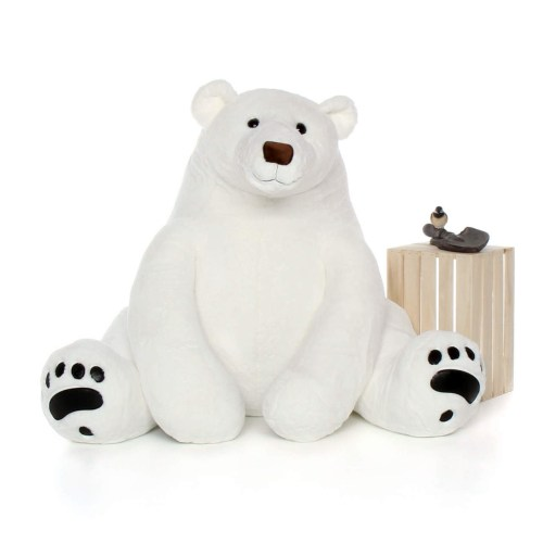 Medium Crop Of Polar Bear Stuffed Animal