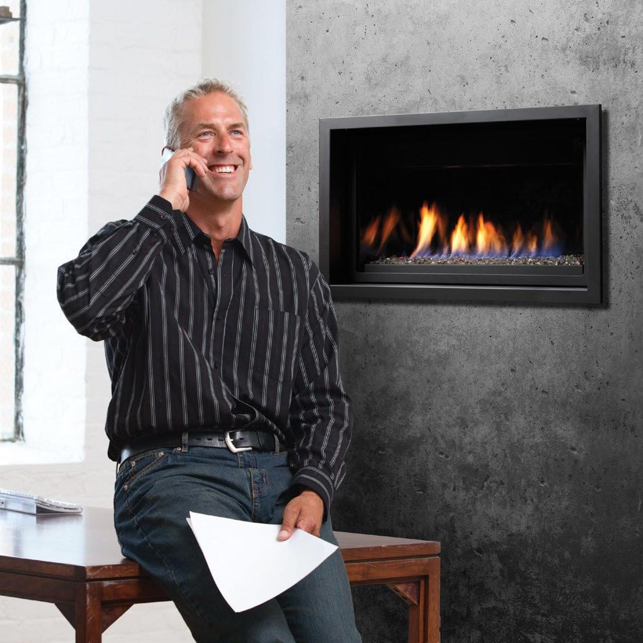White Kingsman Linear Gas Fireplace Package Kingsman Inch Linear Gas Fireplace Package Deal Linear Gas Fireplace See Through Linear Gas Fireplace Prices Canada houzz-03 Linear Gas Fireplace