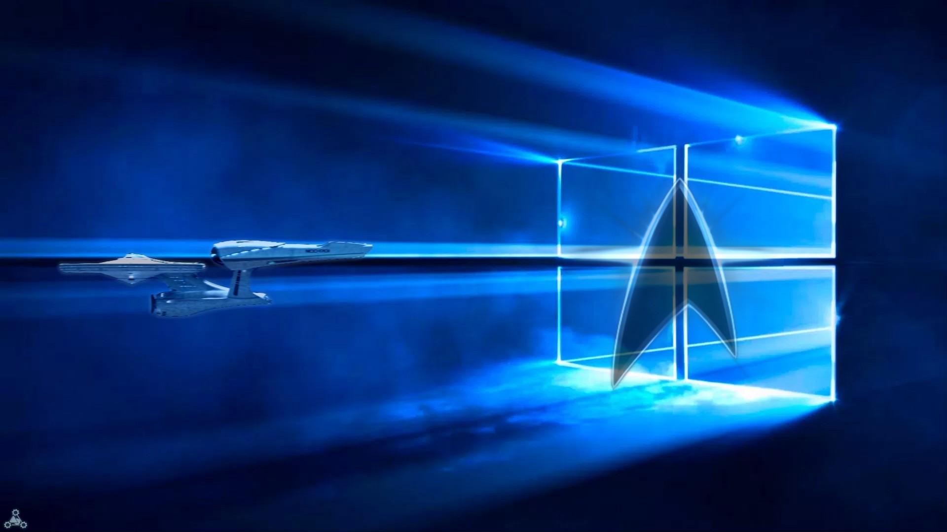 ArtStation - Windows 10 Star Trek Wallpaper, Oliver Ink