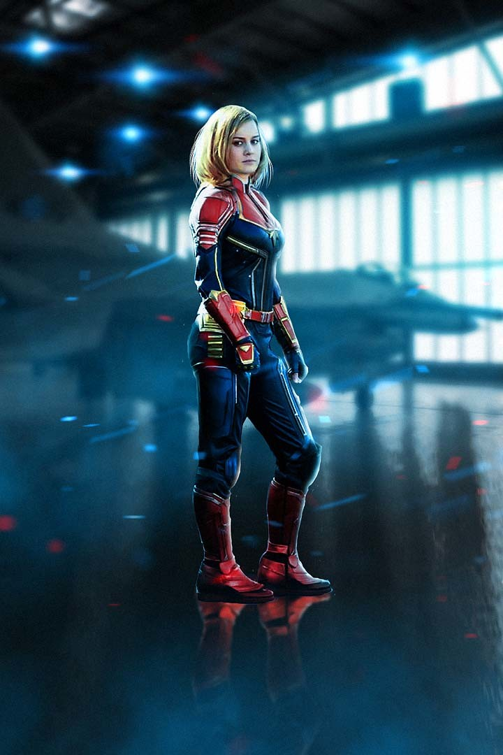 ArtStation   Captain Marvel  Imaginative Hobbyist Carol Danvers