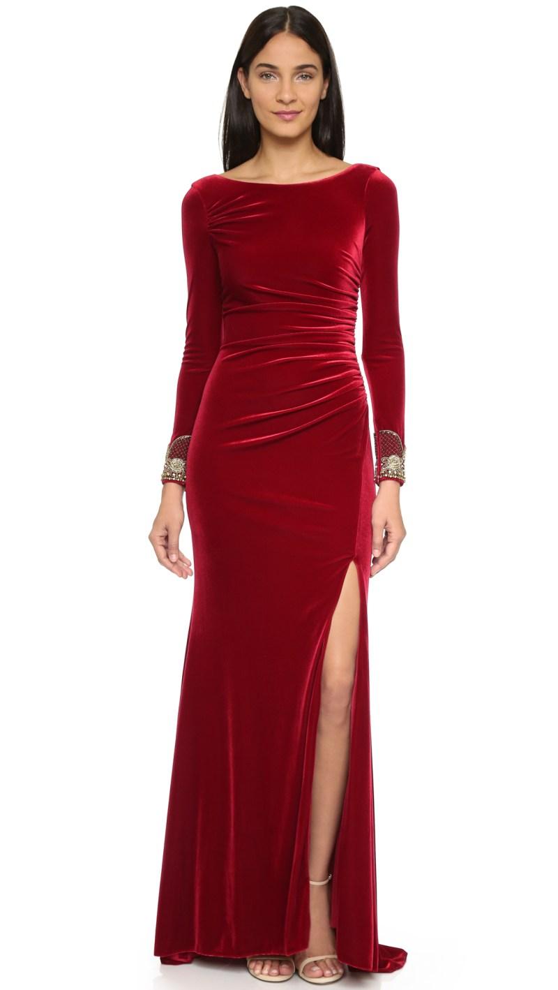 Large Of Long Sleeve Velvet Dress