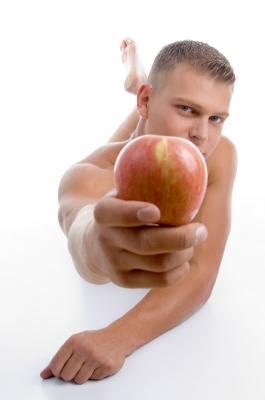 Ofrecer manzana