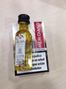 Cigarrillos y aceite de oliva