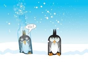 Frío y alcohol