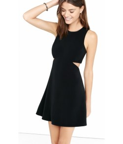 Small Of Black Fit And Flare Dress