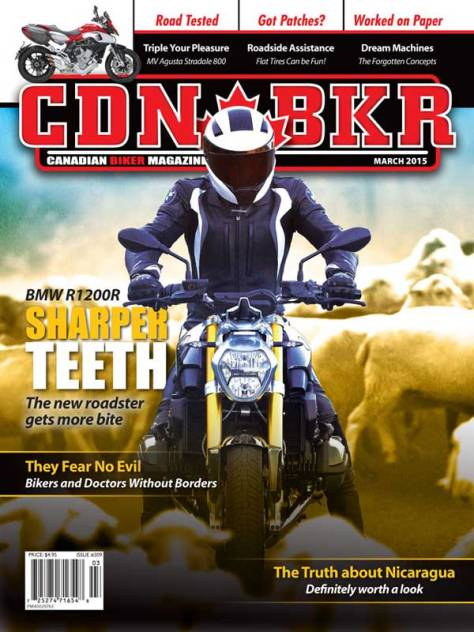 Canadian Biker - March 2015