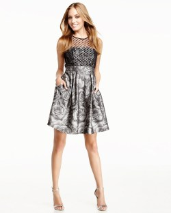 Small Of Fit And Flare Cocktail Dress