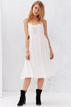 Small Of White Flowy Dress