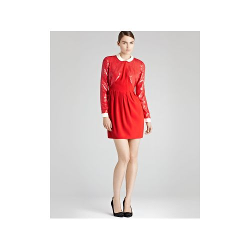 Medium Crop Of Red Sequin Dress