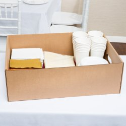 X 16 12 X 7 Corrugated Catering Tray 25case