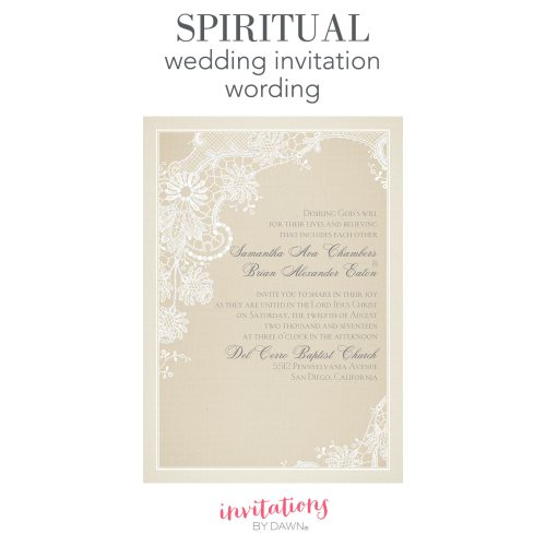 Medium Crop Of Wedding Invitation Wording