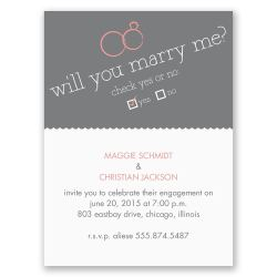Splendid Will You Petite Engagement Party Invitation Will You Petite Engagement Party Invitation Invitations By Dawn Engagement Party Invitations Minted Engagement Party Invitations Shutterfly