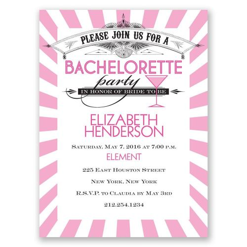 Medium Of Bachelorette Party Invitations