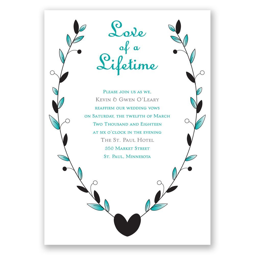 Fullsize Of Vow Renewal Invitations