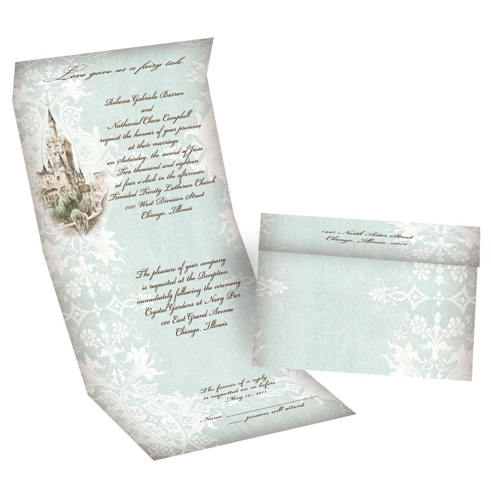 tiffany blue wedding invitations tiffany blue wedding invitations Tiffany Blue Wedding Invitations Like a Dream Seal and Send Invitation
