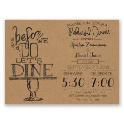 Small Of Rehearsal Dinner Invitation Wording
