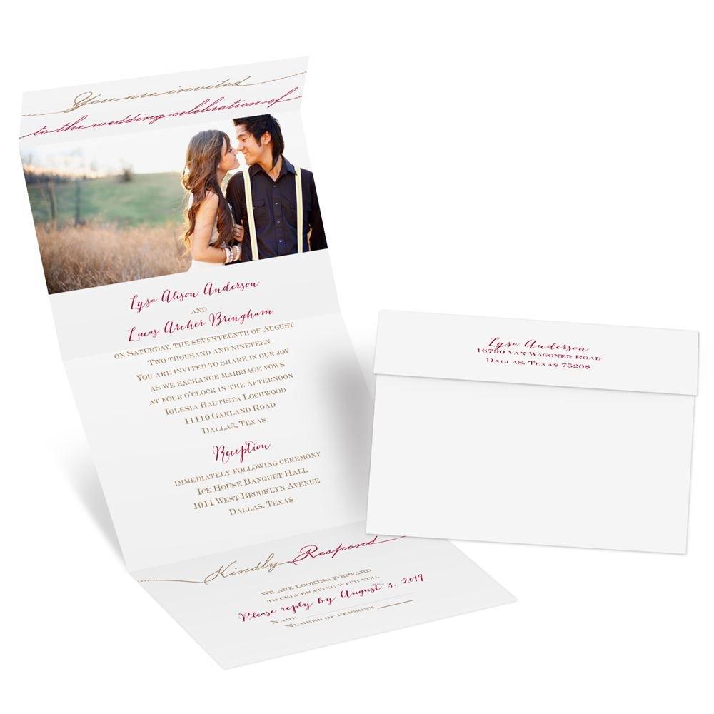 wedding invitations wedding invitations Wedding Invitations Simply Inviting Seal and Send Invitation
