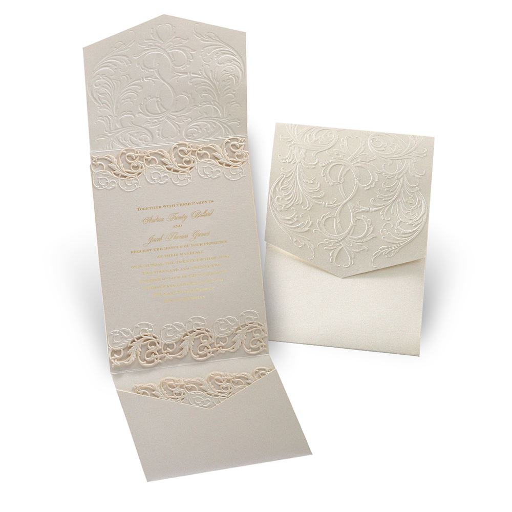 laser cut wedding invitations laser cut wedding invitations Laser Cut Wedding Invitations Vintage Escape Laser Cut Invitation