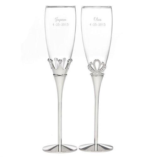 Medium Of Wedding Champagne Flutes