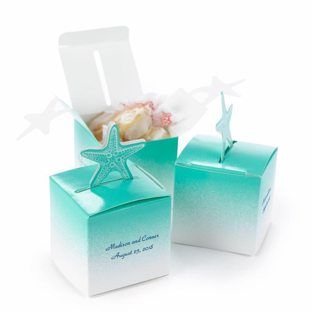 starfish popup favor boxes wedding favor boxes Starfish PopUp Favor Boxes