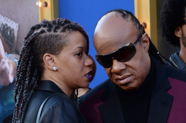 Report  Stevie Wonder marries Tomeeka Robyn Bracy   UPI com Stevie Wonder  R  and Tomeeka Robyn Bracy attend the Los Angeles premiere  of  Sing  on December 3  2016  The couple tied the knot at a  lavish   wedding in