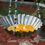 Creating with Beads-DIY Birdfeeder