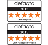 Defaqto 5 star awards
