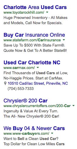 location-based ads