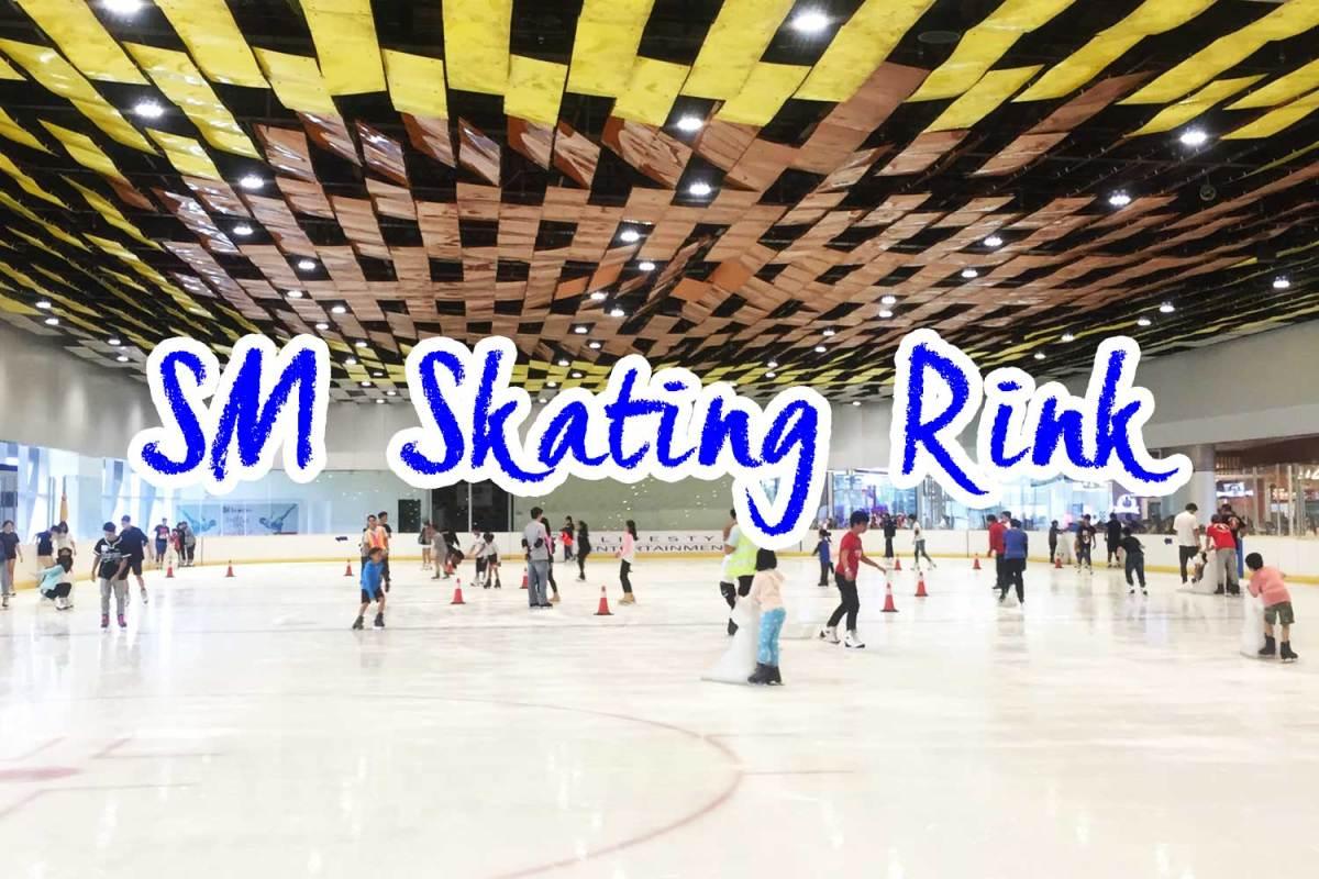 真夏にスケート!? SMシーサイドのアイススケートが意外とおすすめです♡